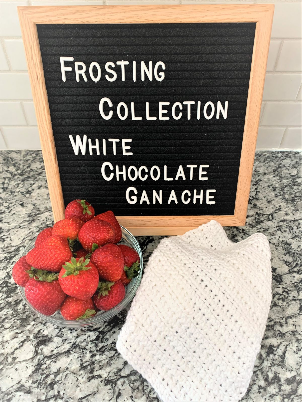 Free Crochet Dishcloth Pattern – Frosting Collection – White Chocolate Ganache – Part 6